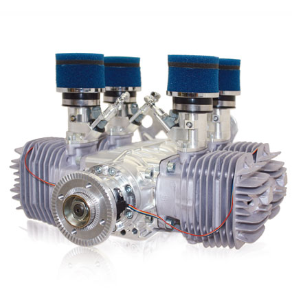 3W international 4-cylinder engine