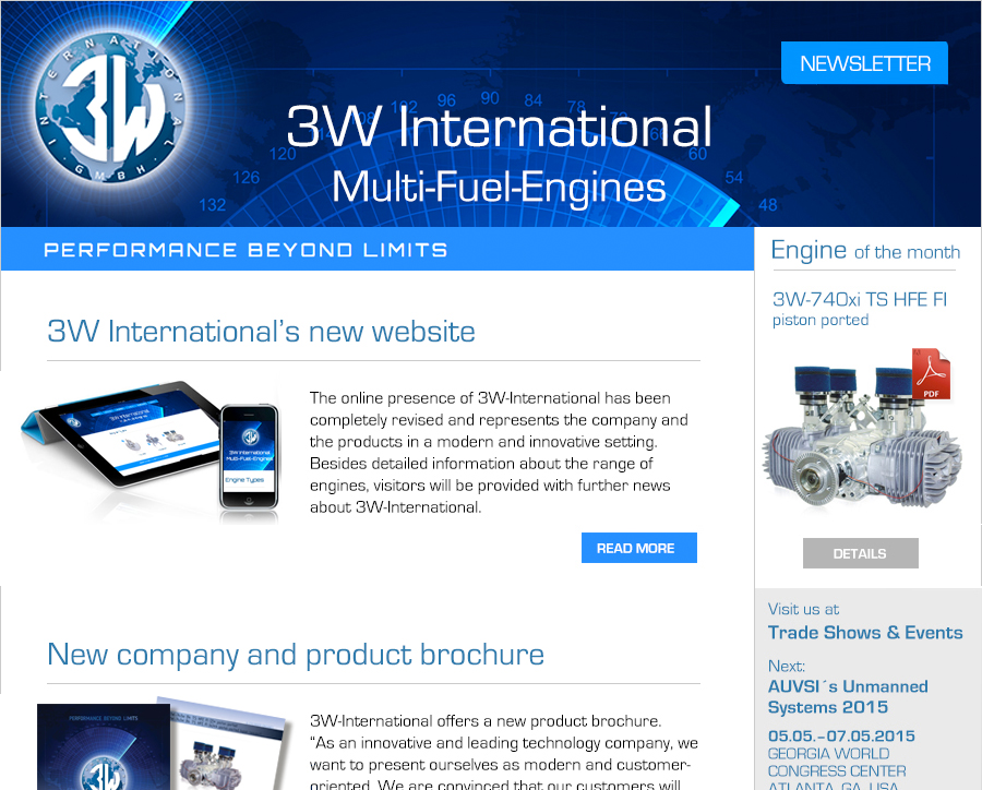 3W International Newsletter