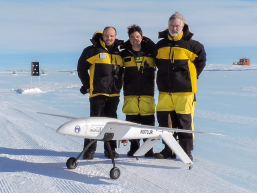 Team with UAV TiburonJr.